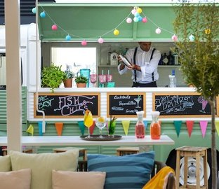 Foodtrack Terraza  VINCCI THE MINT Madrid