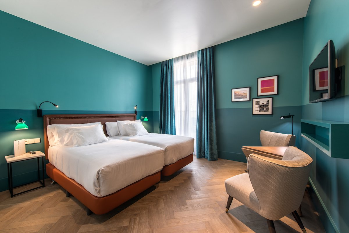 Habitaciones hotel vincci the mint web oficial for Hotel habitacion cuadruple madrid